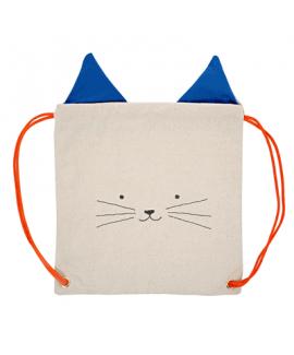תיק שרוך חתול - Meri meri