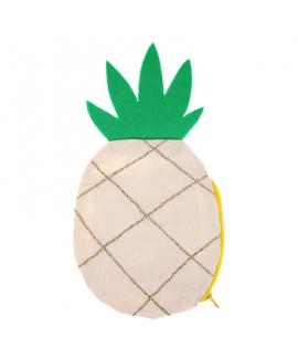 תיק בד קטן בצורת אננס - Meri Meri