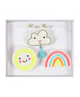 סיכות שמש, ענן וקשת - Meri Meri