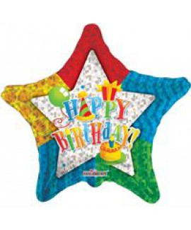 בלון ענק Happy Birthday