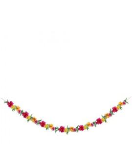 גרילנדת פרחים צבעונית - Meri Meri