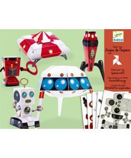 צעצועי נייר - אומנות חלל