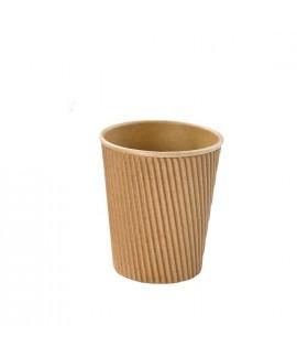 כוס מתכלה לשתיה חמה