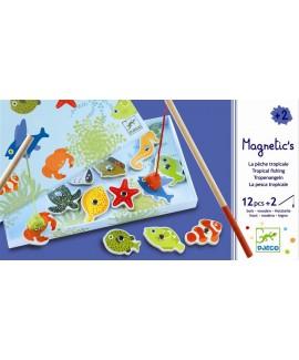 דיג מגנטי- דגים טרופיים