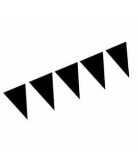 שרשרת דגלונים שחורים