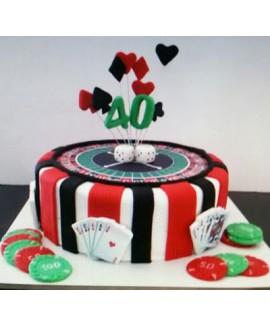 עוגת יום הולדת פוקר