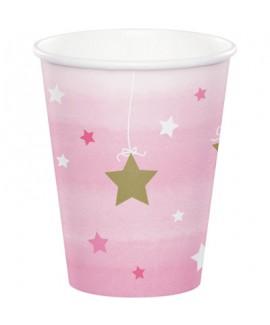 כוסות יום הולדת שנה - בת