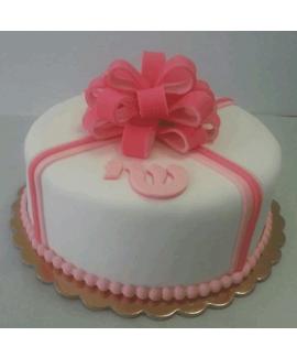 עוגה בצק סוכר ליום הולדת מתנה