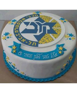 עוגת בצק סוכר יום הולדת נושא