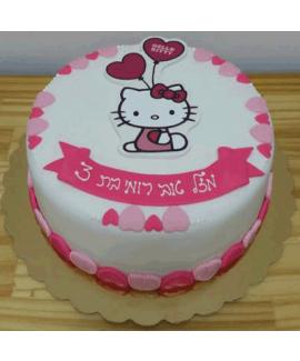 עוגת יום הולדת הלו קיטי