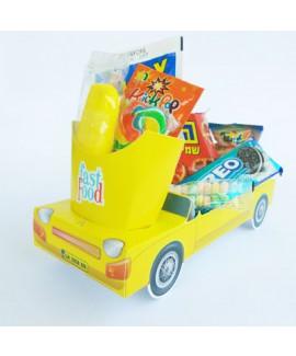 מארז מכונית צבע צהוב