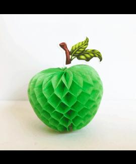 קישוט תפוח ירוק מנייר