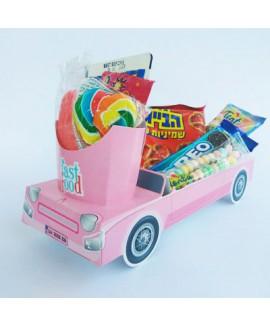 מארז מכונית צבע ורוד