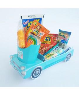 מארז מכונית צבע תכלת