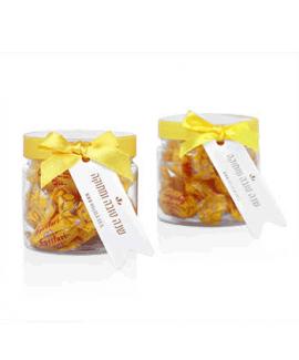 צנצנות עם סוכריות דבש לראש השנה