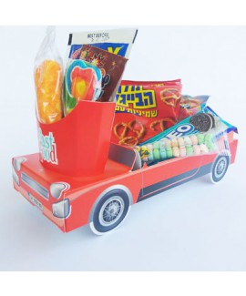 מארז מכונית צבע אדום