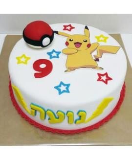 עוגת יום הולדת פוקימון