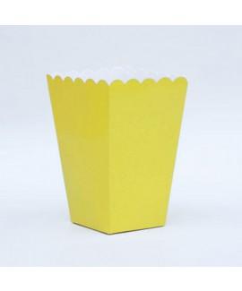 קופסת פופקורן צהוב