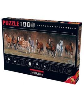 פאזל 1000 חלקים- סוסים