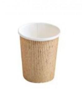 """כוס נייר טבעית לאספרסו 120 מ""""ל"""