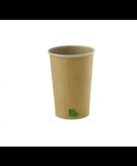 """כוס נייר קרטון קראפט 120 מ""""ל לאספרסו"""