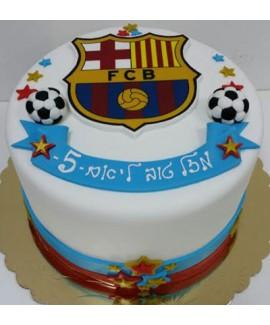 עוגת יום הולדת ברצלונה