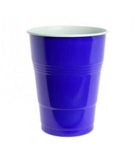 כוסות פלסטיק גדולות צבע כחול
