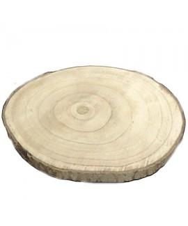 מגש עץ טבעי גדול