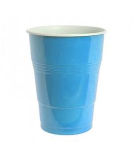 כוסות פלסטיק גדולות צבע תכלת