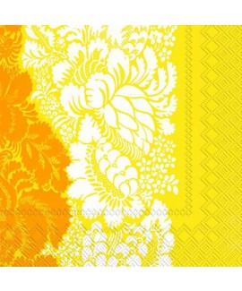 מפיות מרימקו פרחוני צהוב