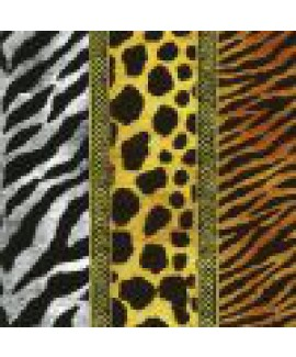 מפיות נייר הדפסת חיות ג'ונגל