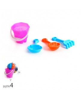 מיני ערכת כלים לחול