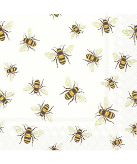 מפיות קוקטייל- דבורים
