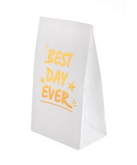 מארז שקיות נייר Best Day Ever