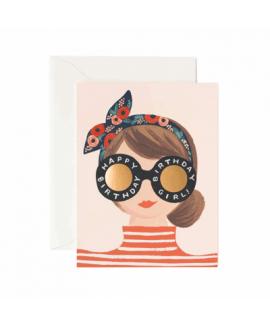 birthday girl -כרטיס ברכה יום הולדת