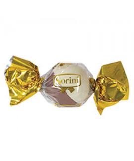 חבילת שוקולד סוריני חצי חצי - שוקולד חלב ושוקולד לבן