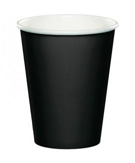 כוסות נייר שחור