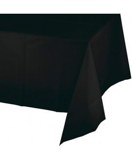 מפת ניילון שחור מטאלי חלק