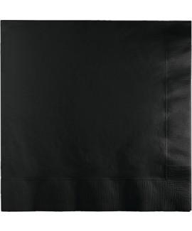מפיות גדולות בצבע שחור