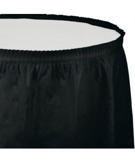 חצאית לשולחן שחור