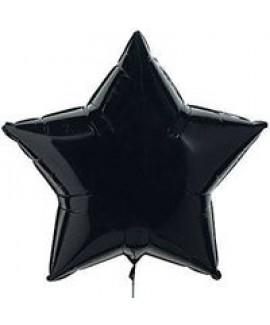 בלון אלומיניום כוכב שחור