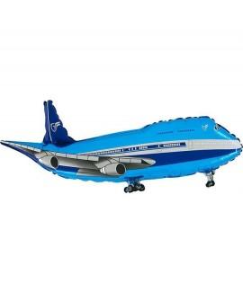 בלון מטוס כחול