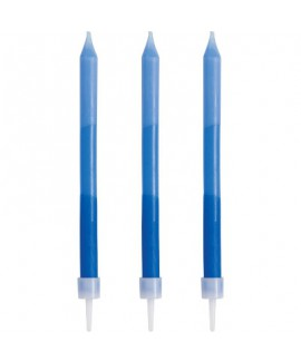 נרות אומברה בגווני כחול