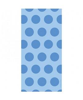 שקיות יום הולדת ניילון נקודות כחול