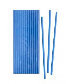 קש נייר כחול