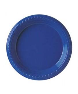 צלחת כחולה בינונית