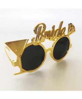 משקפיי שמש Bride בצבע זהב