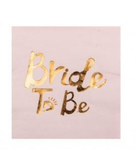 מפיות קוקטייל Bride To Be