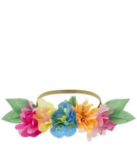 מארז 6 כתרי פרחים מנייר - Meri Meri