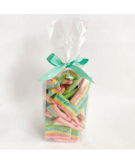 """מארז סוכריות גומי """"שטיחים"""" קצרים- 250 גרם"""
